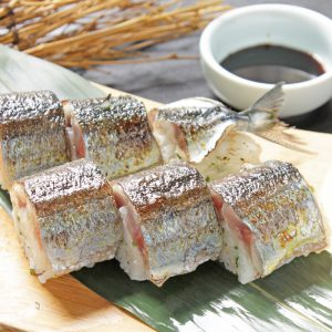 秋-秋刀魚の棒寿司