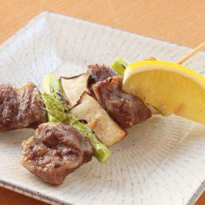 イベリコ豚-ロースと野菜の串焼き