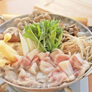 秋-塩豚骨スープ鍋