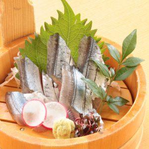 秋-秋刀魚の造り