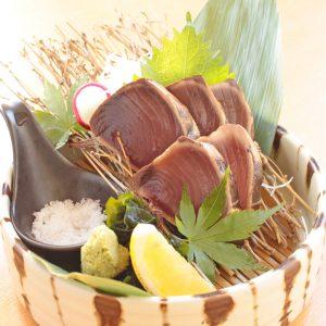 秋-藁焼き鰹